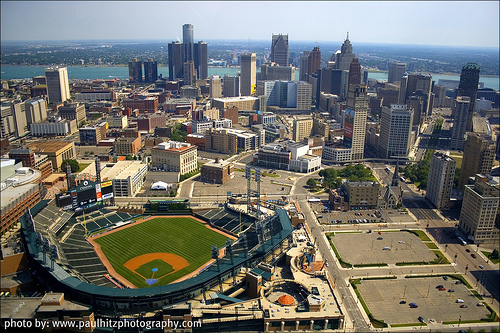 Detroit Skyline From Paul Hitz